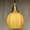 Retrolampa med tygsladd (äldre) - Äldre lampskärm + tygsladd svart med klofäste