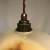 Retrolampa med tygsladd (äldre)