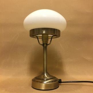 Strindbergslampa mini med opalvit skärm - Strindbergslampa liten opalvit