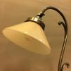 Jugendlampan med liten gul skomakarskärm