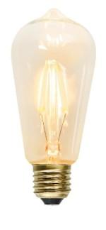 Glödlampa lykta LED Filament 2,3W - E27 - Glödlampa lykta LED Filament 2,3watt