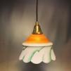 Kökslampa med tygsladd (äldre)