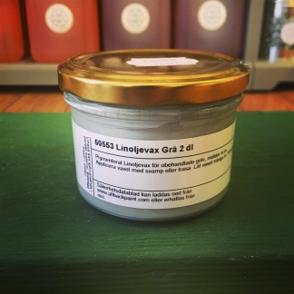 Linoljevax grått 2 dl - Linoljevax grått - 2 dl
