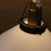 Skomakarlampa med matt glas Ø 20 cm