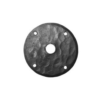 Smidesrosett rund till bl.a. dörrhandtag - Smidesrosett rund 75 mm (OBS: säljes styckvis)