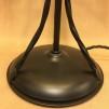 Strindbergslampa 235mm mörkgrön toppig