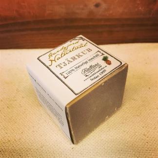 Schampokub tjära 125 gram / Jägartvål - Tjärschampo på kub Källans Naturprodukter 125 gram