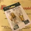 Glödlampa 2-pack päron LED 1,3W - E14 - 2-pack Glödlampa LED KOLTRÅD päron E14 1,3W