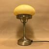 Strindbergslampa mini med gulmarmorerad skärm - Strindbergslampa liten gulmarmoread