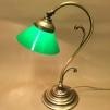 Jugendlampan med liten grön skomakarskärm