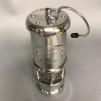 Gruvlykta Miner's Lamp - nickel - liten 17 cm