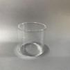 Gruvlykta Miner's Lamp - nickel - liten 17 cm - TILLVAL: Extraglas till denna lampa