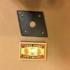 Smidesrosett fyrkantig till bl.a. dörrhandtag