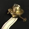 Brännare 1'' med skruv (och 25 mm veke) (Brännare till fotogenlampa) - Brännare DHR för linjeglas med skruvfattning 1'' inkl. veke och plastgänga