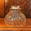 Klarslipad klockskärm - 60 mm krage - Klarglas rutslipad klockskärm med vågad kant (endast skärm)