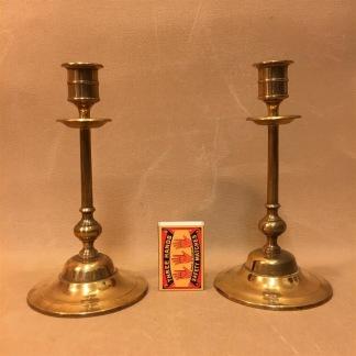 Par ljusstakar från Gusums Bruk, No 52 (äldre) - Par ljusstakar Nr 52 från Gusum