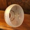 Frostslipad klockskärm insvängd - 60 mm krage