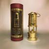 Gruvlykta Miner's Lamp - mässing  - liten 17 cm