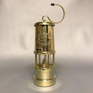 Gruvlykta Miner's Lamp - mässing  - liten 17 cm - Minsta gruvlyktan i mässing