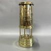Gruvlykta Miner's Lamp - mässing - mellan 22 cm