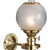 E.S. Sørensen oljelampa 6''' Captain's Cabin Lamp - Captain's Cabin Lamp polerad mässing med kupa