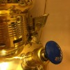 Petromax taklampa klarglas HK 500 - elektrifierad - Petromax TAK mässing med KLART glas