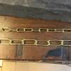 Äkta mässingskedja i metervara (Kedja till lampa)