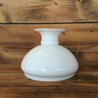 Vestaskärm opal - 140 mm (Skärm till fotogenlampa) - Vesta vit 140 mm