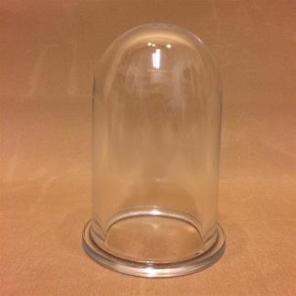 Reservglas till utstående gallerarmaturer - Extraglas som passar modellerna 2296L, 2296C, 2060L och 2060C.