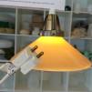 15 eller 20 cm - Skomakarlampor - vit, gul eller grön - Gul stor 200 mm INKL  takkontakt