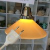 15 eller 20 cm - Skomakarlampor - vit, gul eller grön - Gul stor 200 mm INKL väggkontakt