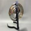 Väggreflektor i nickel (Reservdel till fotogenlampa)