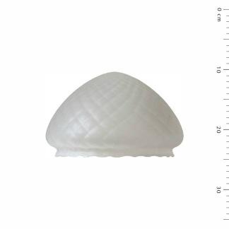 200 mm - Skärm toppig optisk - till Strindbergslampa - Strindbergsskärm MELLAN optikmatterad toppig 200 mm i diameter