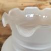 85 mm - Kupa 14''' helfrostad klassiker (Kupa till fotogenlampa)