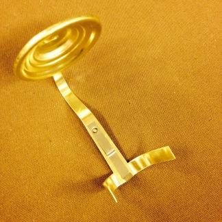 Sotskydd för linjeglas svanhals Ø 45 mm (Reservdel till fotogenlampa) - Enkelt sotskydd svanhals litet 4,5 cm i diameter