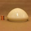 235 mm - Skärm toppig vanilj stor - till Strindbergslampa - Strindbergsskärm STOR gulvit toppig  235 mm i diameter