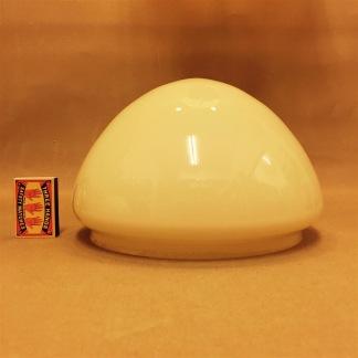 200 mm - Skärm toppig vanilj mellan - till Strindbergslampa - Strindbergsskärm MELLAN gulvit toppig 200 mm i diameter