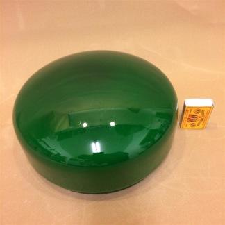 200 mm - Skärm mörkgrön mellan - till Strindbergslampa - Strindbergsskärm MELLAN mörkgrön 200 mm i diameter