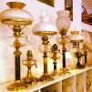 85 mm - Kupa 14''' frostad medaljongmönster (Kupa till fotogenlampa)