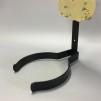 Väggreflektor med snäcka i mässing (Reservdel till fotogenlampa)