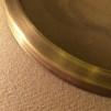 15''' skärmring (155 - 235 mm) (Reservdelar till fotogenlampor) - för 15''' brännare 235 mm antikoxiderad mässing