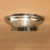 Taklampa ampelplafond optisk/nickel 31 cm