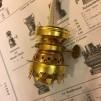 5''' flatbrännare  (med 13 mm veke och oljehusring) (Brännare till fotogenlampa)
