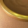 14''' skärmring (155 - 235 mm) (Reservdelar till fotogenlampor) - för 14''' brännare 235 mm polerad mässing