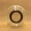 14''' oljehus glas/antiklackerad (Oljehus till fotogenlampor)