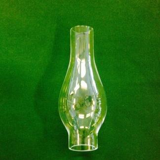 30 mm - Linjeglas 3''' lökformad (Glas till fotogenlampa) - Linjeglas 3''' (30 mm)  höga modellen (stora cafélampans)