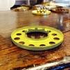 10''' kupring (yttermått: 70 - 85 mm)  (Reservdelar till fotogenlampor) - 10''' - 85 mm kupring polerad mässing