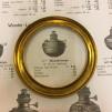 20''' kupring (yttermått: 85 mm) (Reservdelar till fotogenlampor) - 20''' kupring polerad mässing
