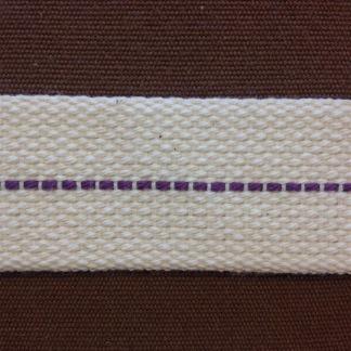 25 mm veke för flatbrännare (Veklängd: 25 cm) (Vekar till fotogenlampor) - 25 mm bred veke i bomull (tunnare variant)