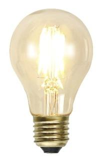 Glödlampa normalform LED 2,5W - E27 - Glödlampa LED KOLTRÅD klassisk form E27 2W